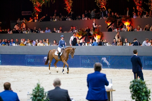 Sales of the Rising Stars Jumping Zwolle 2019 © DigiShots